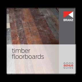 Good Repair Guide: Timber floorboards