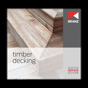 Good Repair Guide: Timber decking