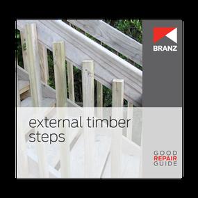 Good Repair Guide: External timber steps