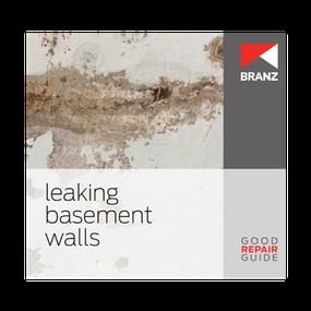 Good Repair Guide: Leaking basement walls