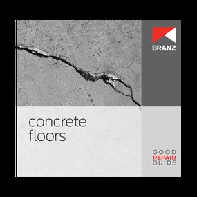Good Repair Guide: Concrete floors