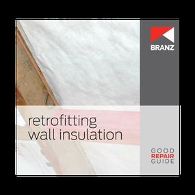 Good Repair Guide: Retrofitting wall insulation