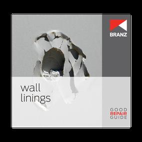 Good Repair Guide: Wall linings