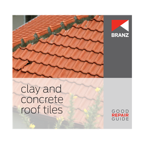 Good Repair Guide: Clay and concrete roof tiles