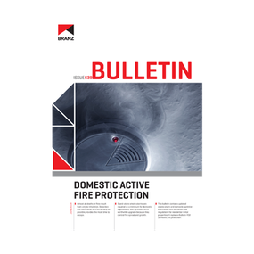 BU639 Domestic active fire protection
