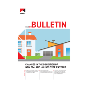 BU642 Changes in the condition of New Zealand houses over 25 years