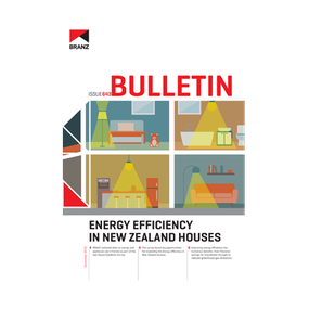 BU643 Energy efficiency in New Zealand houses