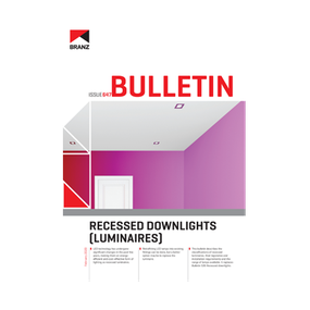 BU647 Recessed downlights (luminaires)