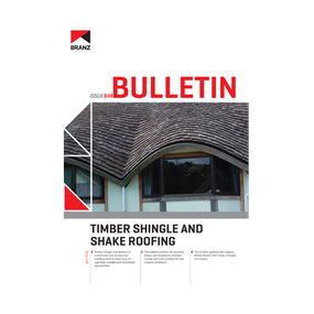 BU648 Timber shingle and shake roofing