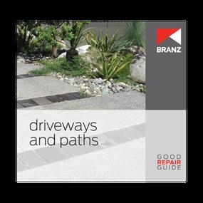 Good Repair Guide: Driveways and paths