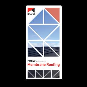 Seminar: BRANZ Answers - Membrane roofing