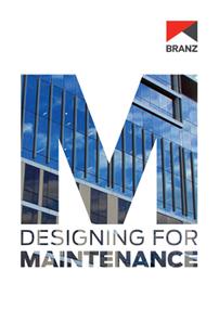 Designing for maintenance