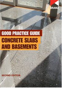 Good Practice Guide: Concrete slabs and basements (2nd edition)