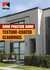 Good Practice Guide: Texture-coated claddings (3rd edition)
