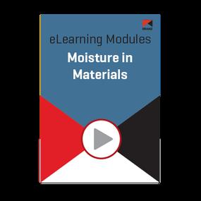 Module: Moisture in materials