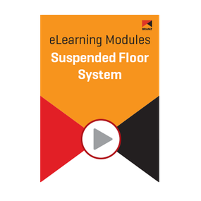 Module: Suspended floor system