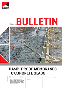 BU653 Damp-proof membranes to concrete slabs