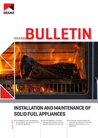BU654 Installation and maintenance of solid fuel appliances