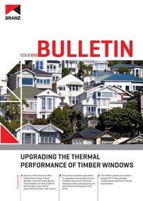 BU659 Upgrading the thermal performance of timber windows