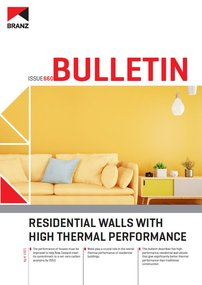BU660 Residential walls with high thermal performance