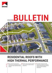 BU661 Residential roofs with high thermal performance