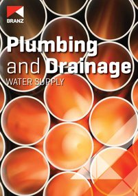 Seminar: Plumbing and Drainage  - Water supply