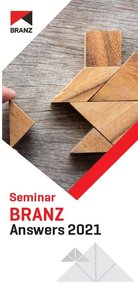 Seminar: BRANZ Answers 2021