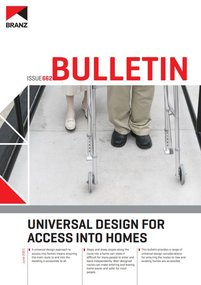 BU662 Universal design for access into homes
