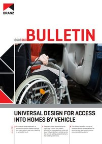 BU663 Universal design for access into homes by vehicle