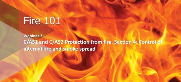 Webinar: Fire 101: Control of internal fire and smoke spread