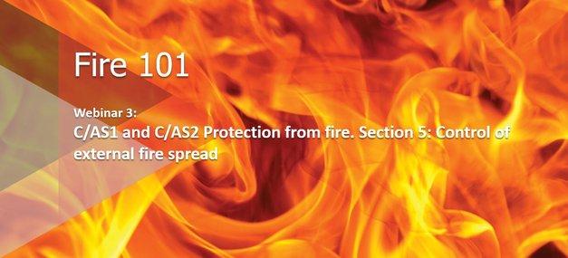 Webinar: Fire 101: Control of external fire spread