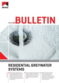 BU665 Residential greywater systems