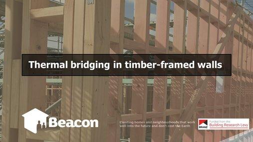 Webinar: Thermal Bridging in timber-framed walls